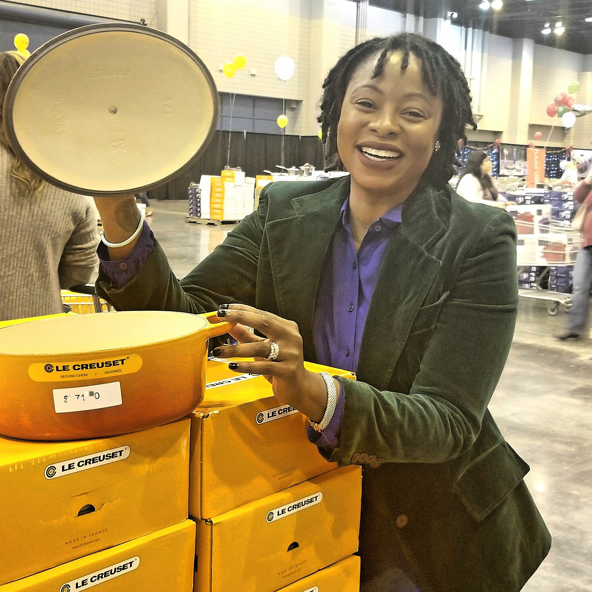 Le creuset factory to table